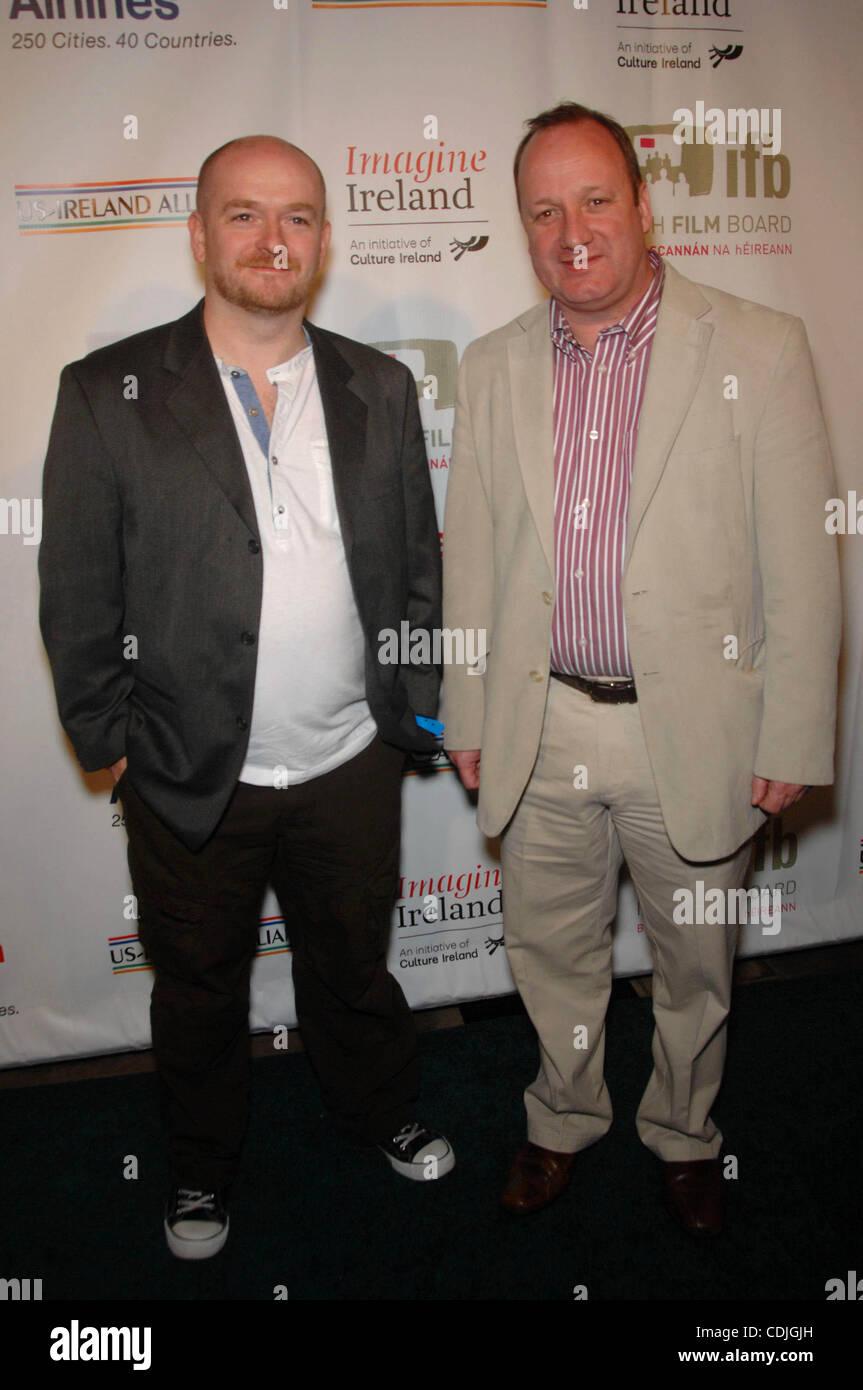 Feb. 25, 2011 - Hollywood, California, U.S. - Michael Creagh and Damon Quinn during the 6th Annual Oscar Wilde: - Stock Image