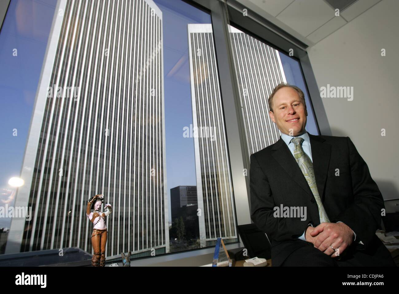 Mar 01, 2011 - Los Angeles, California, U.S. - JEFF COLVIN, senior vice president of Comerica Bank. (Credit Image: - Stock Image