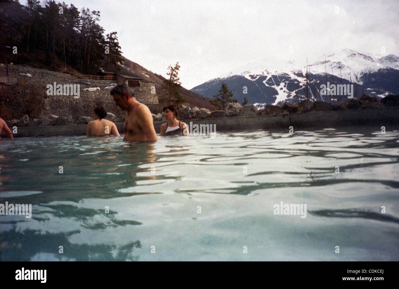 Mar 16, 2011 - Bormio, Italy - Open Air Hot Springs Pool Overlooking ...
