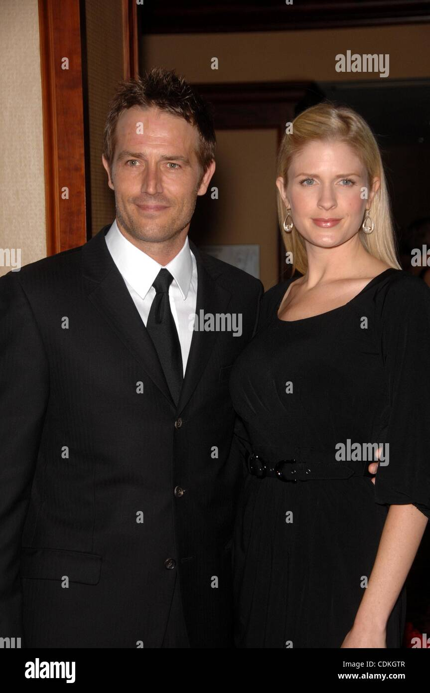 Mar. 19, 2011 - Hollywood, California, U.S. - Michael Vartan and Lauren Skaar during the Humane Society of the United Stock Photo