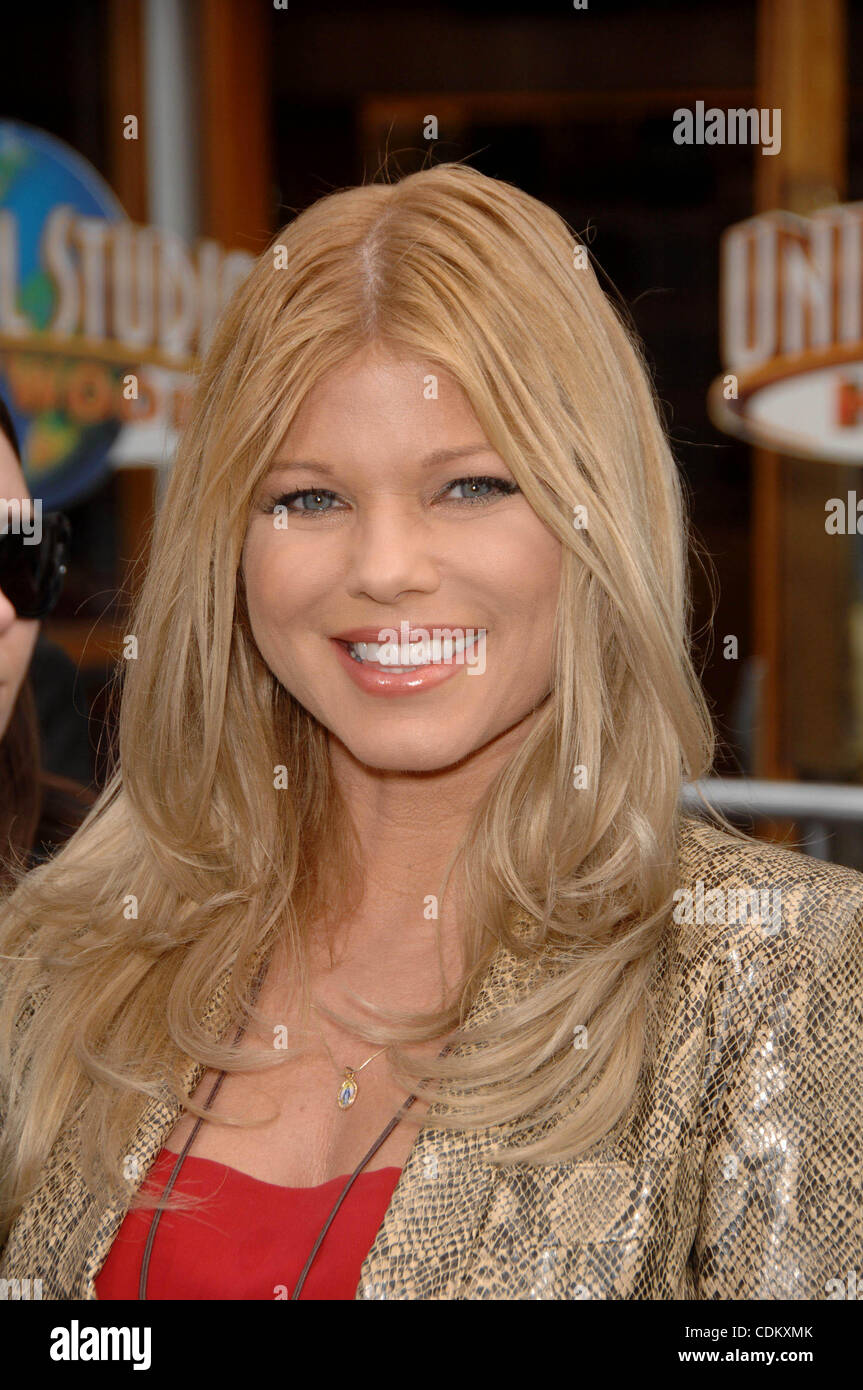 Mar. 27, 2011 - Hollywood, California, U.S. - Donna D'Errico during the premiere of the new movie from Universal Stock Photo