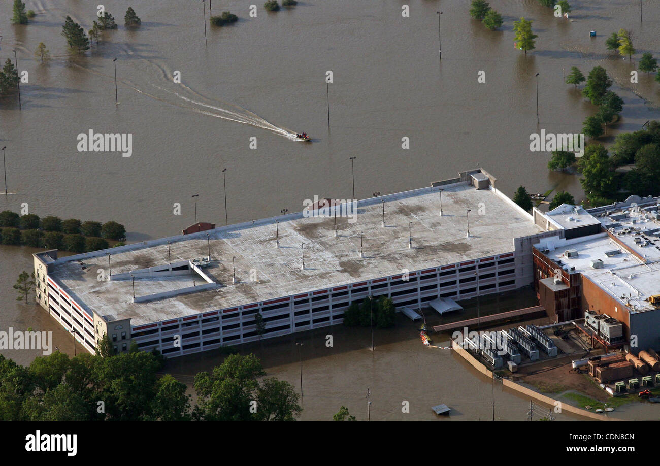 May 10, 2011 - Tunica, Mississippi, U S  - A small boat goes