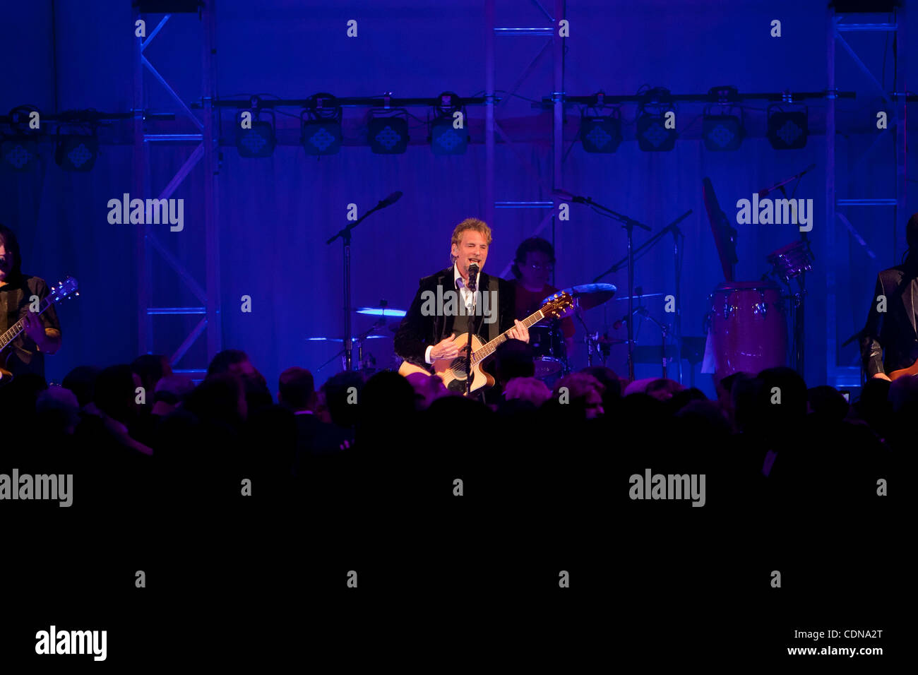 May 14, 2011: Rock legend Kenny Loggins performs during the El Camino  Hospital 50th Anniversary fundraising Gala at the Sharon Heights Country  Club in Menlo ...