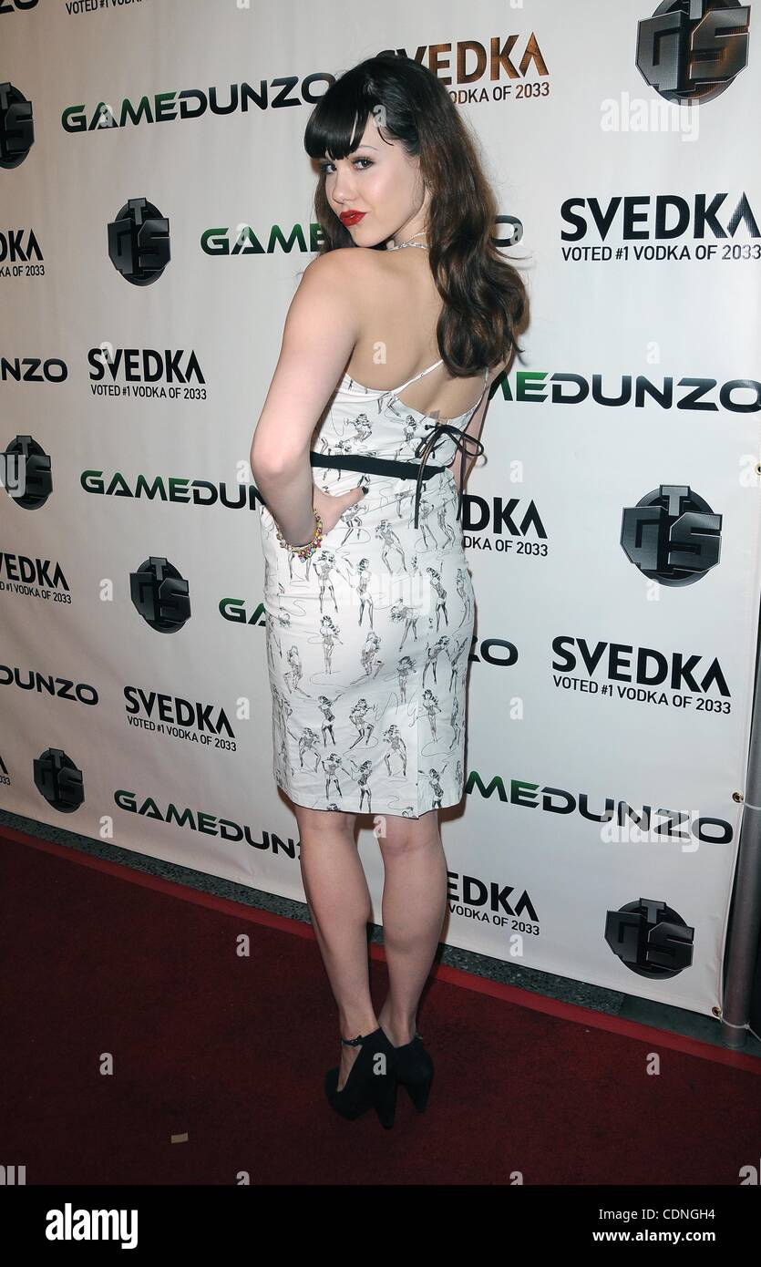 June 7, 2011 - Hollywood, California, U.S. - GameDunzo and The Game Station host E3 Launch Party at Club Suede at - Stock Image