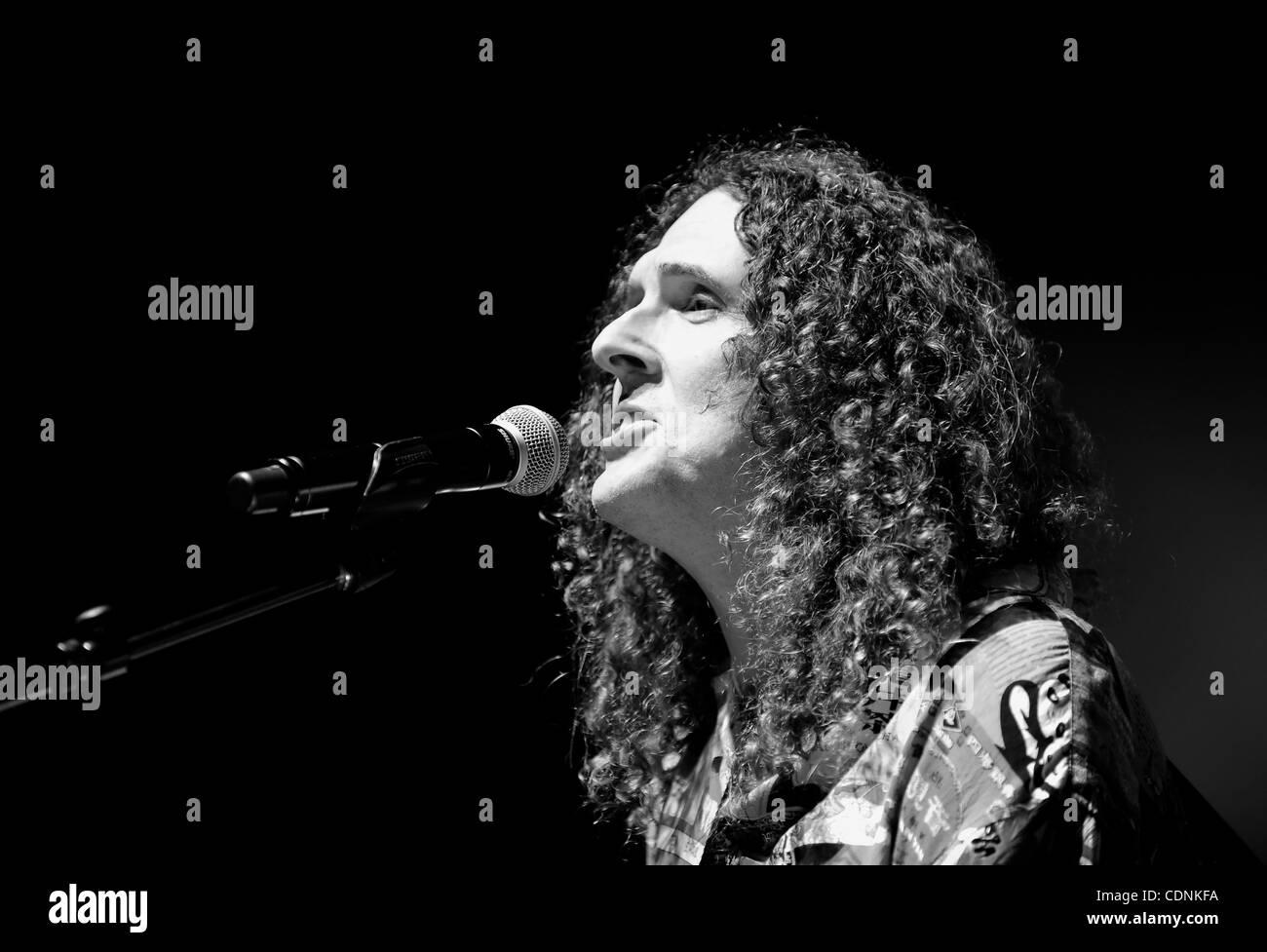 June 16, 2011 - Santa Ynez, California, U.S. - Comedy singer WEIRD ...