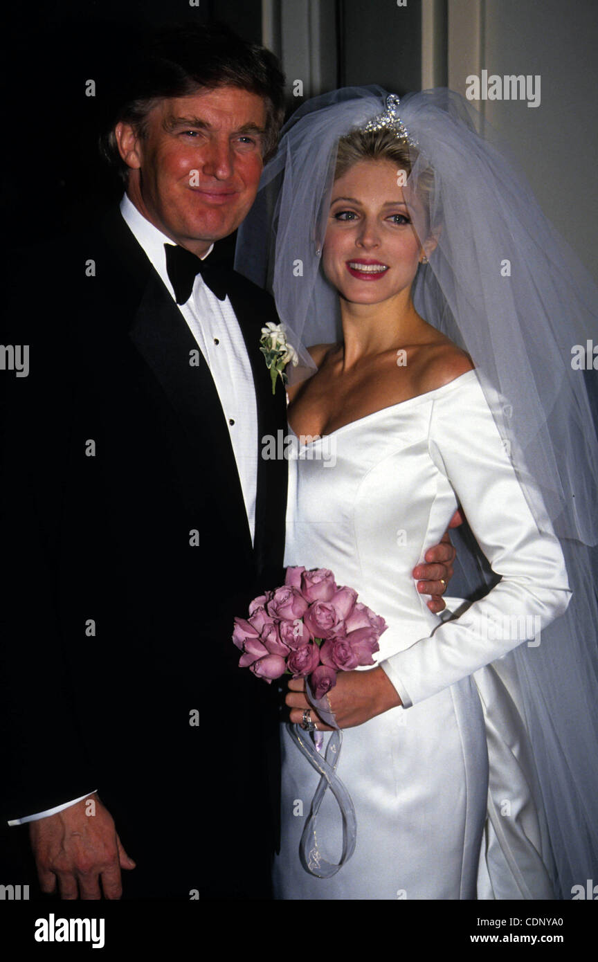 Donald Trump And Marla Maples Stock Photos Donald Trump And Marla
