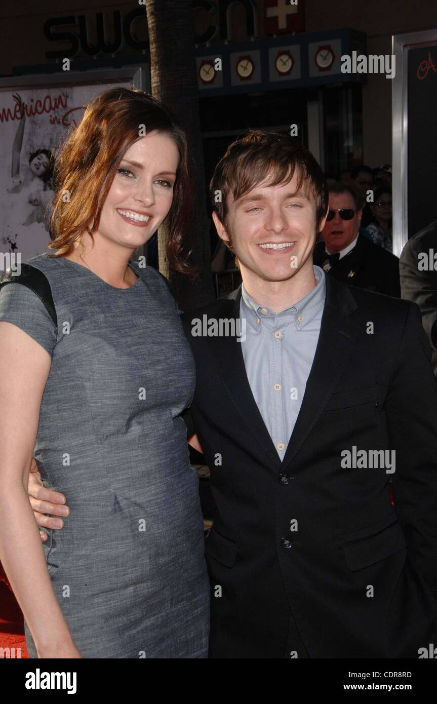 April 28, 2011 - Hollywood, California, U.S. - Jamie Anne Allman and Marshall Allman during the TCM Film Festival's - Stock Image