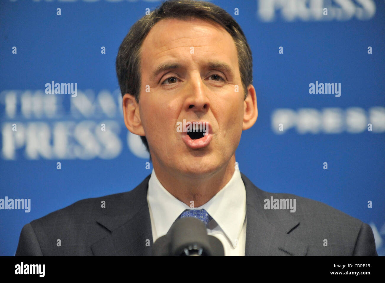 FILE PHOTO - Former Minnesota Governor TIM PAWLENTY opened his bid for the Republican presidential nomination in - Stock Image