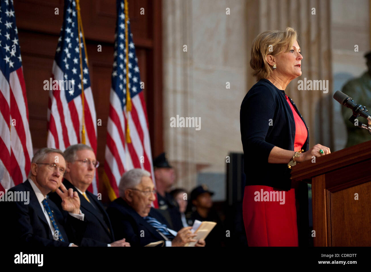 May 3, 2011 - Washington, District of Columbia, U.S. - SUSAN FORD BALES, daugher of the late President Gerald R. - Stock Image