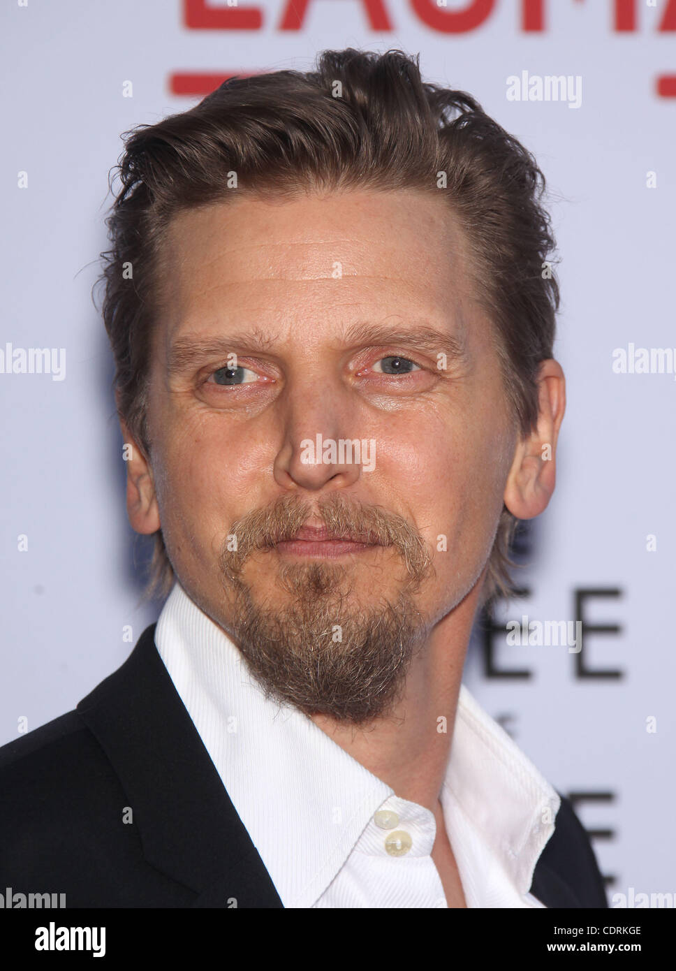 May 24, 2011 - Los Angeles, California, U.S. - BARRY PEPPER arrives for the premiere of the film 'Tree Of Life' - Stock Image