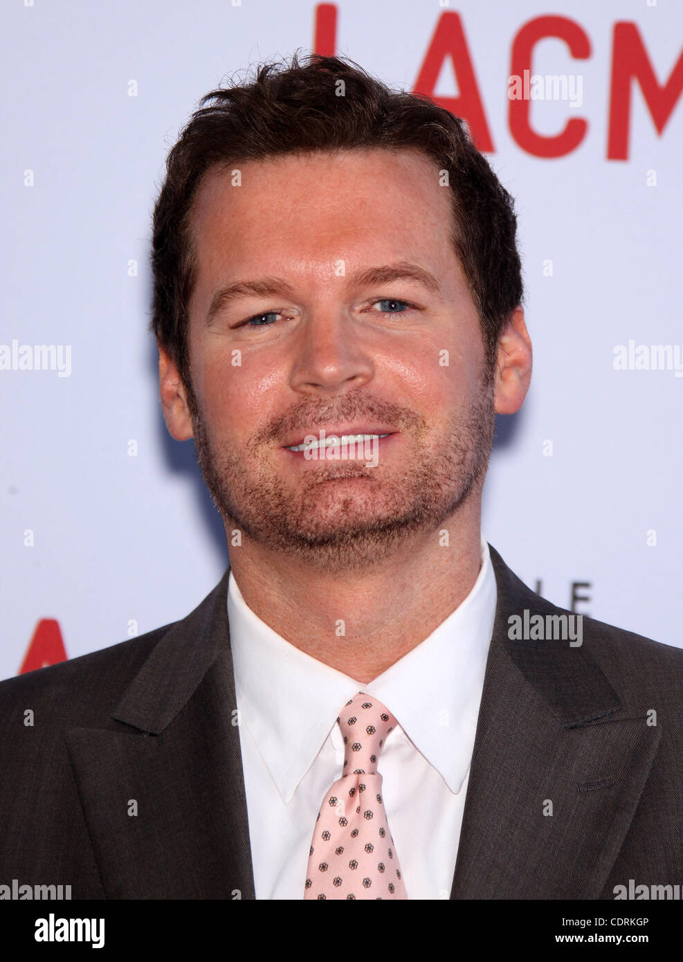 May 24, 2011 - Los Angeles, California, U.S. - ERIC MATHENY arrives for the premiere of the film 'Tree Of Life' - Stock Image