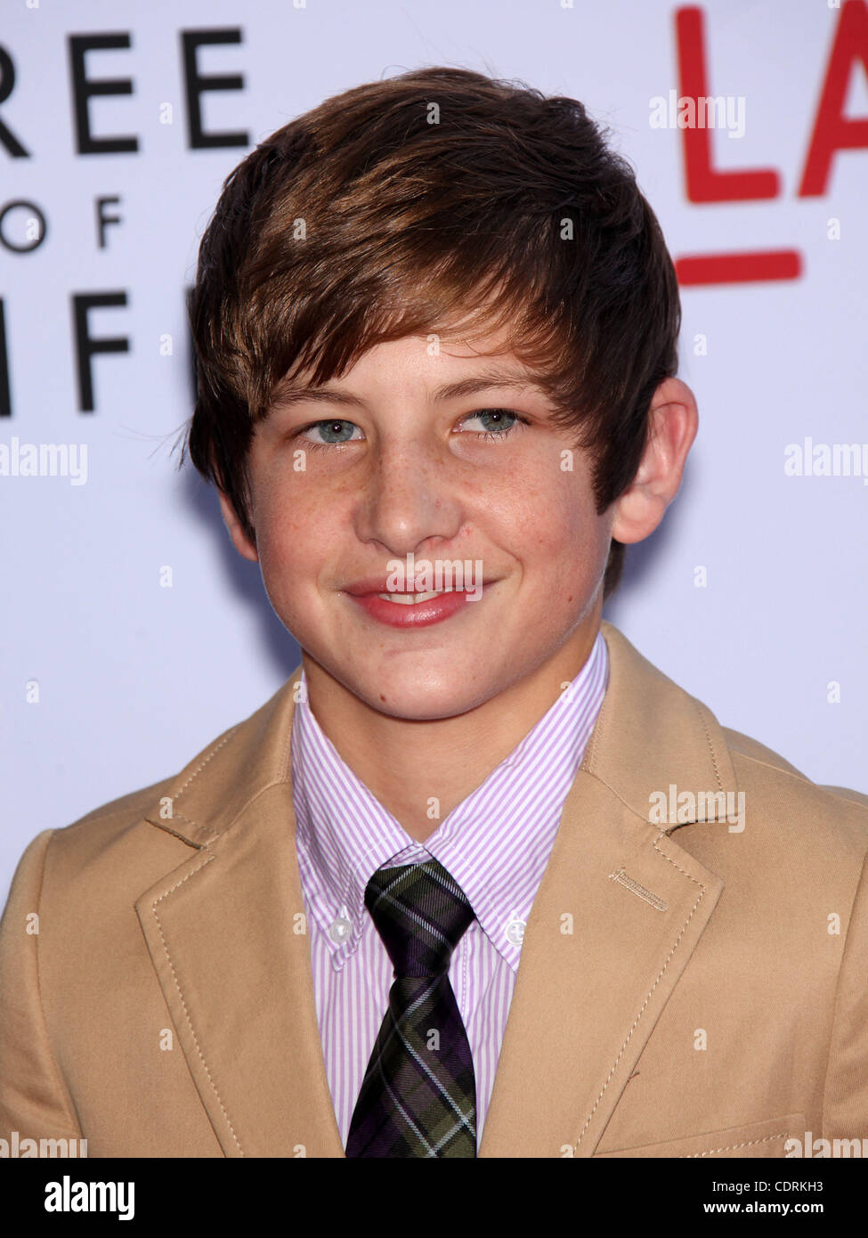 May 24, 2011 - Los Angeles, California, U.S. - LARAMIE EPPLER arrives for the premiere of the film 'Tree Of - Stock Image