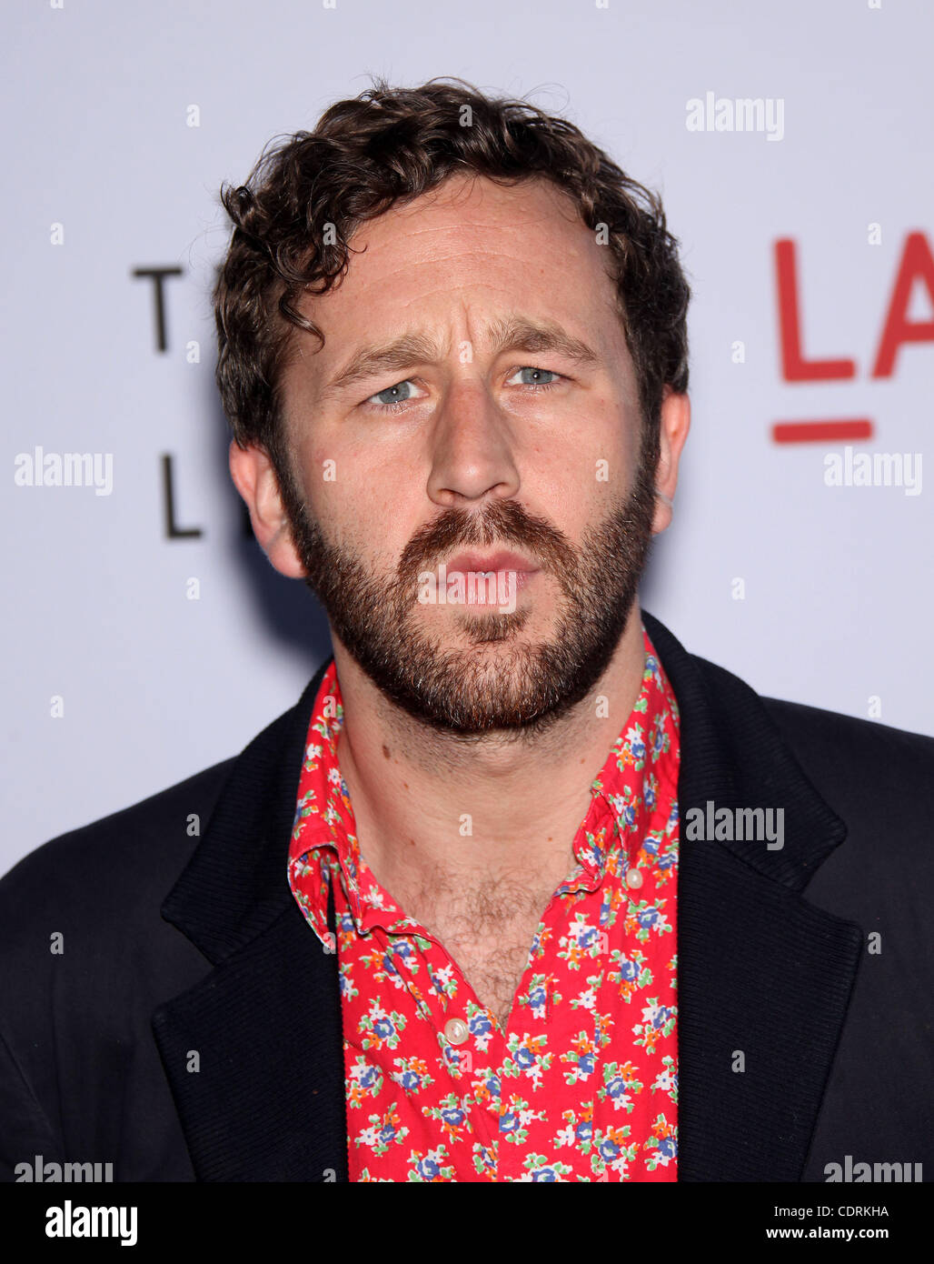 May 24, 2011 - Los Angeles, California, U.S. - CHRIS O'DOWD arrives for the premiere of the film 'Tree Of - Stock Image