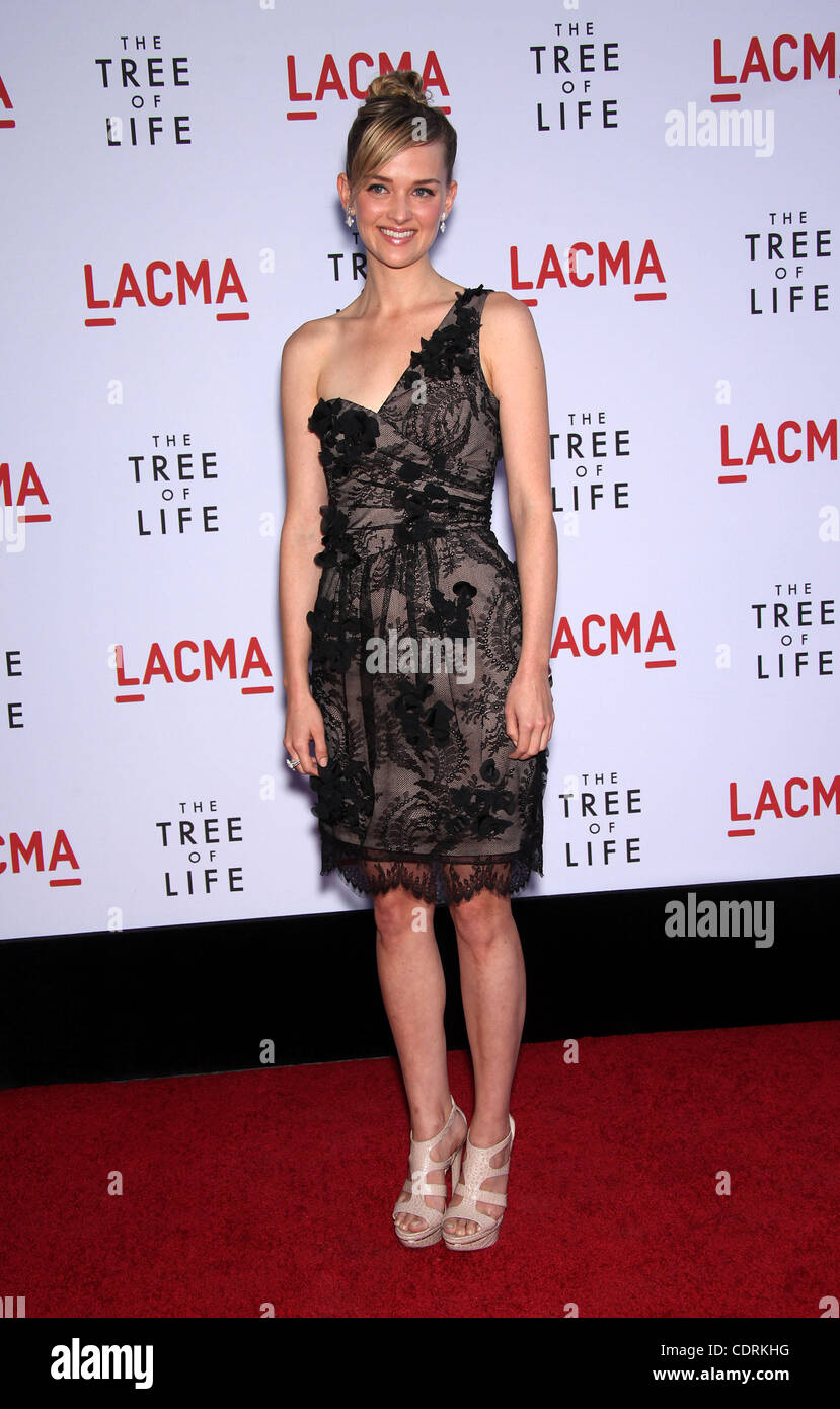 May 24, 2011 - Los Angeles, California, U.S. - JESS WEIXLER arrives for the premiere of the film 'Tree Of Life' - Stock Image