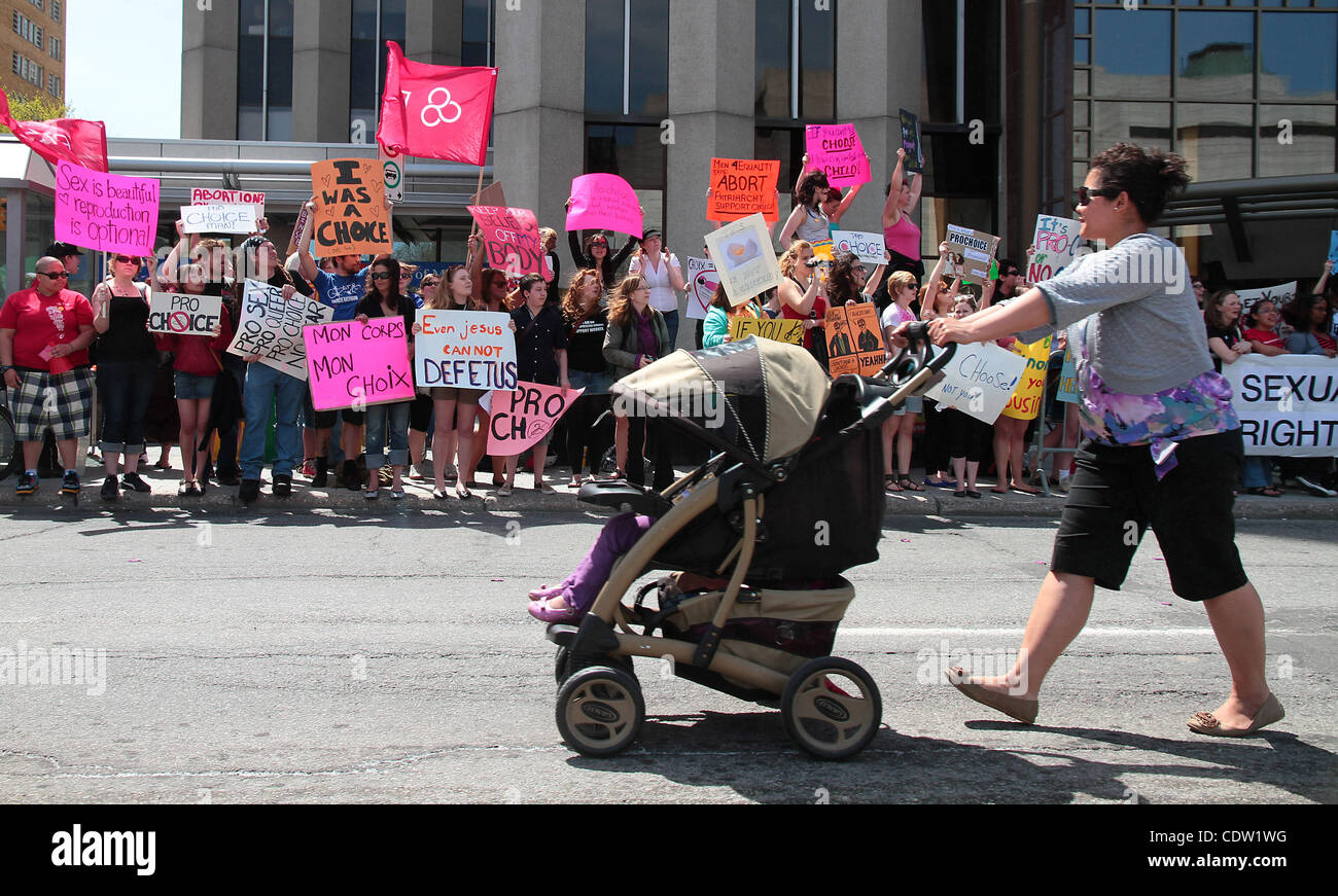 May 12 2011 Ottawa Ontario Canada Pro Life
