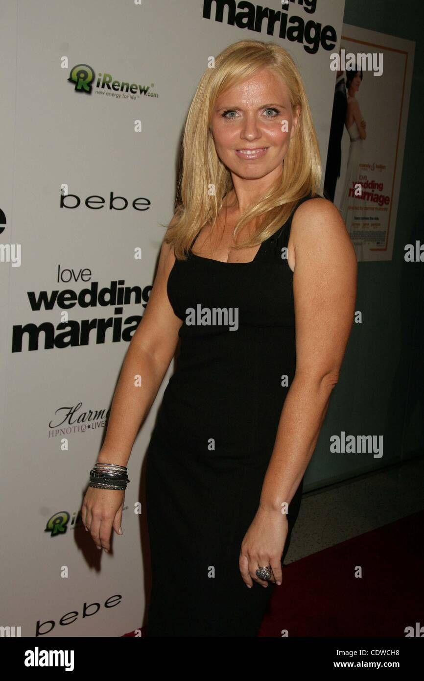 May 17, 2011 - Hollywood, California, U.S. - ..''Love Wedding Marriage'' Los Angeles Premiere.Pacific - Stock Image