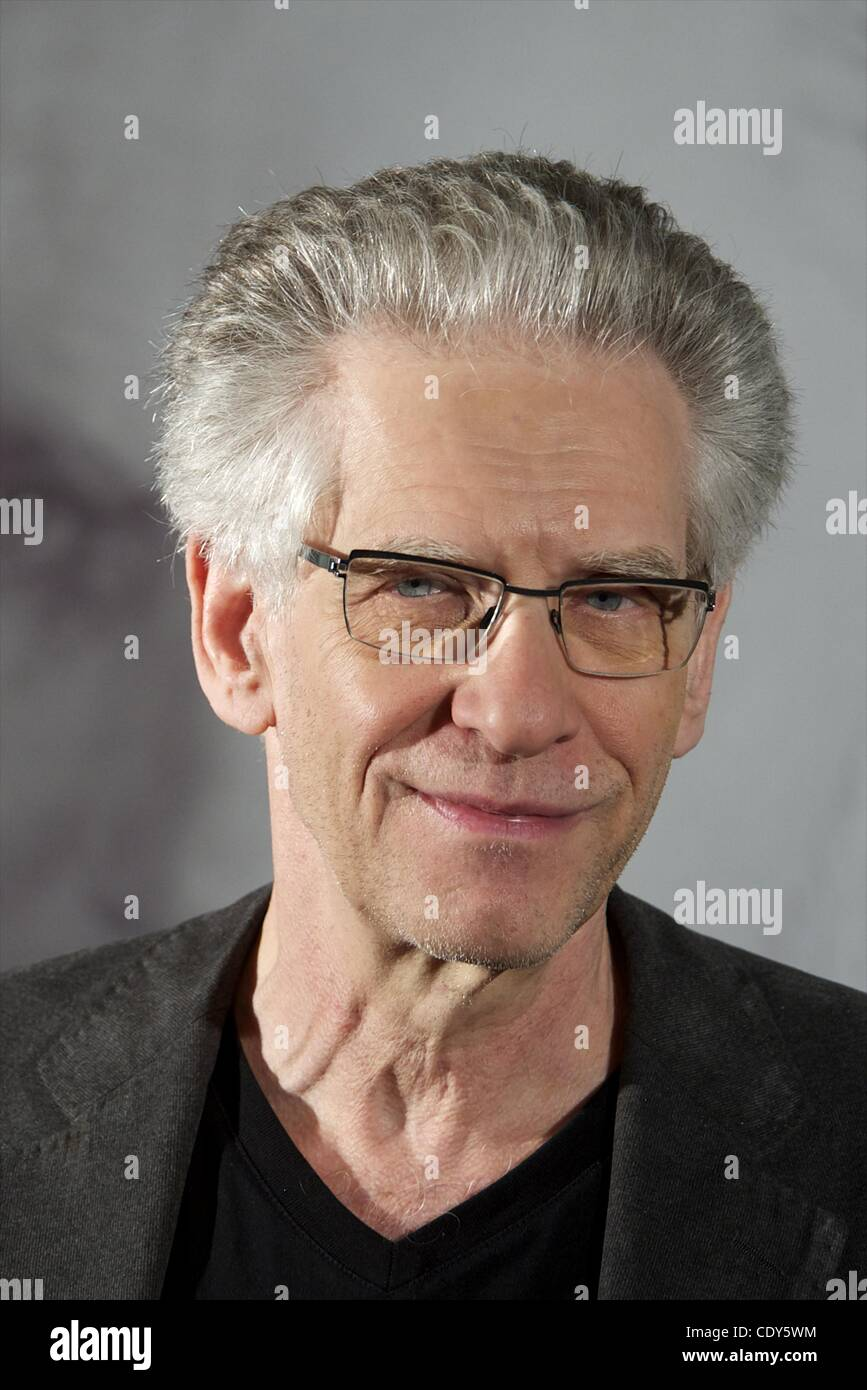 Nov. 2, 2011 - Madrid, Spain - Director David Cronenberg attends 'Un Metodo Peligroso' (A Dangerous Method) photocall Stock Photo