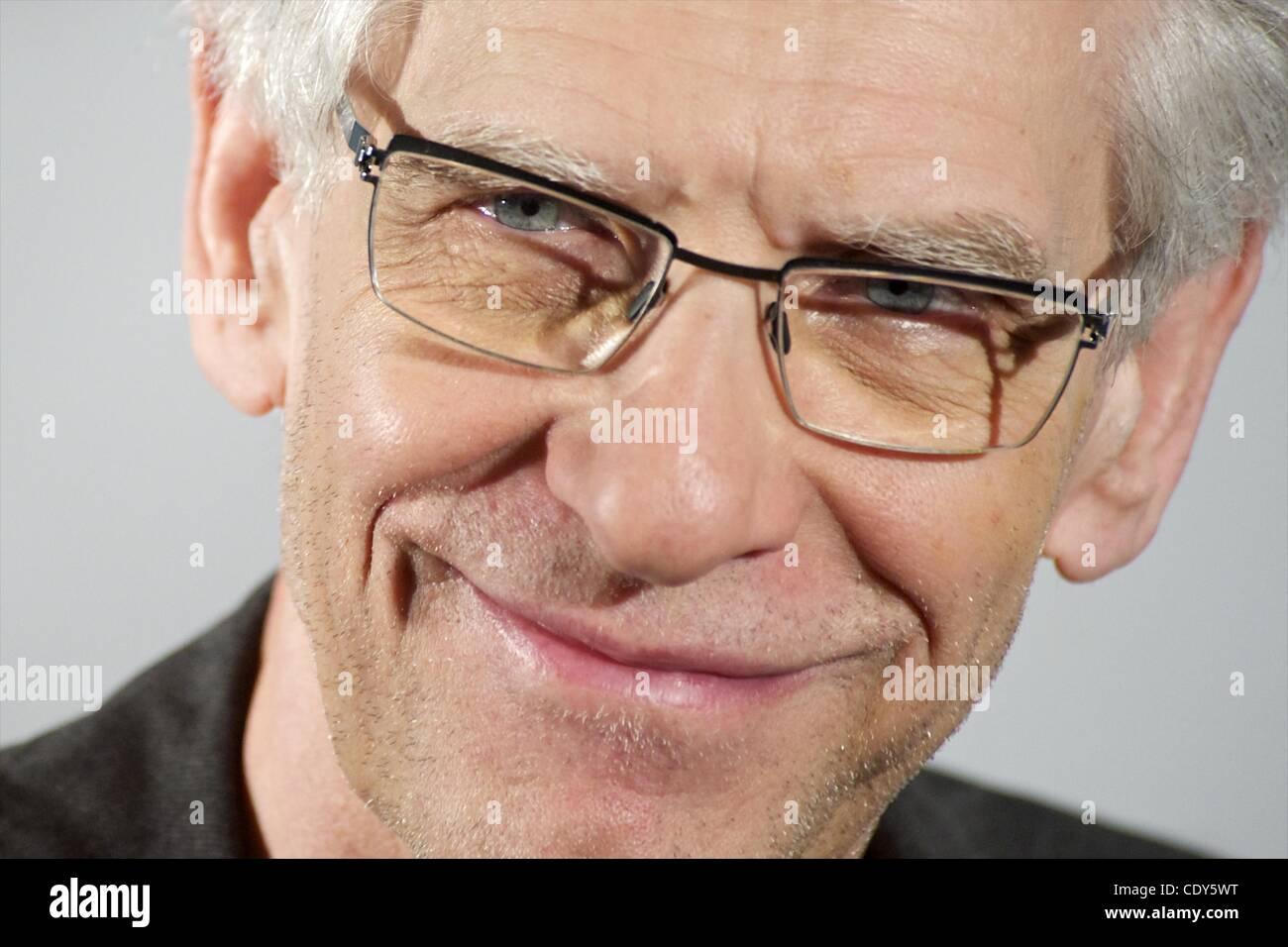 Nov. 2, 2011 - Madrid, Spain - Director David Cronenberg attends 'Un Metodo Peligroso' (A Dangerous Method) photocall Stock Photo