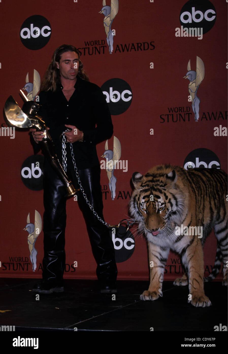 Aug. 8, 2011 - Hollywood, California, U.S. - K21925EG.RANDY  MILLER.Stuntman Awards.Barker Hangar, Santa Monica, - Stock Image