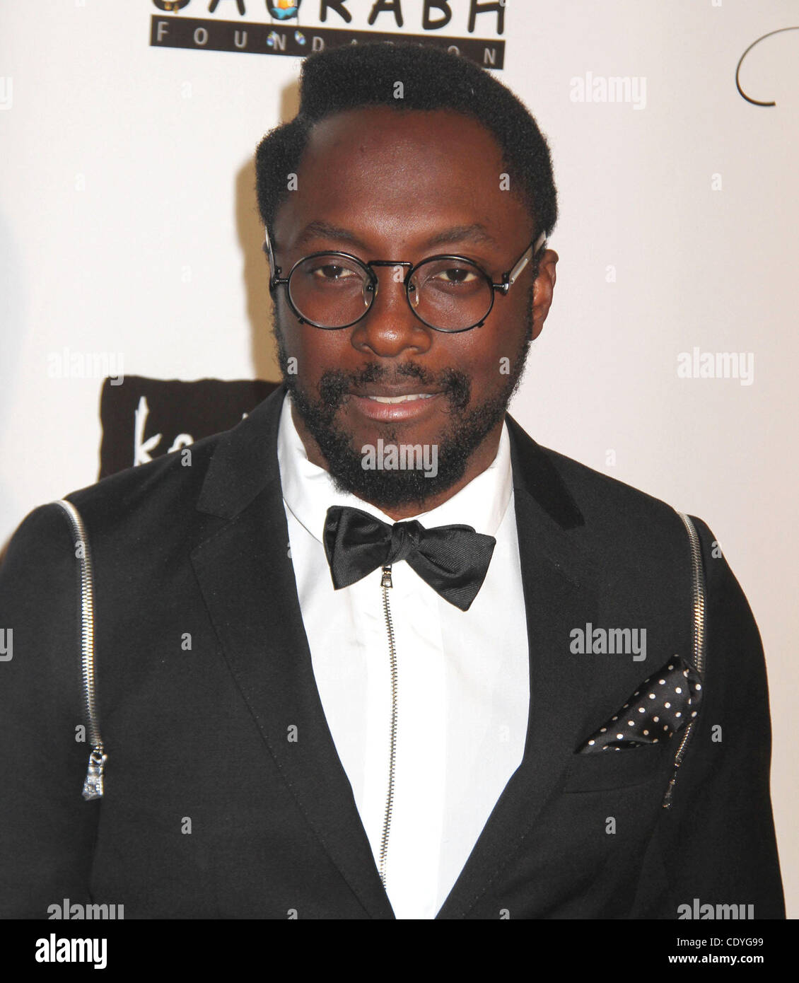 Nov. 3, 2011 - New York, New York, U.S. - WILL. I. AM attends the Keep A Child Alive's 8th Annual Black Ball - Stock Image