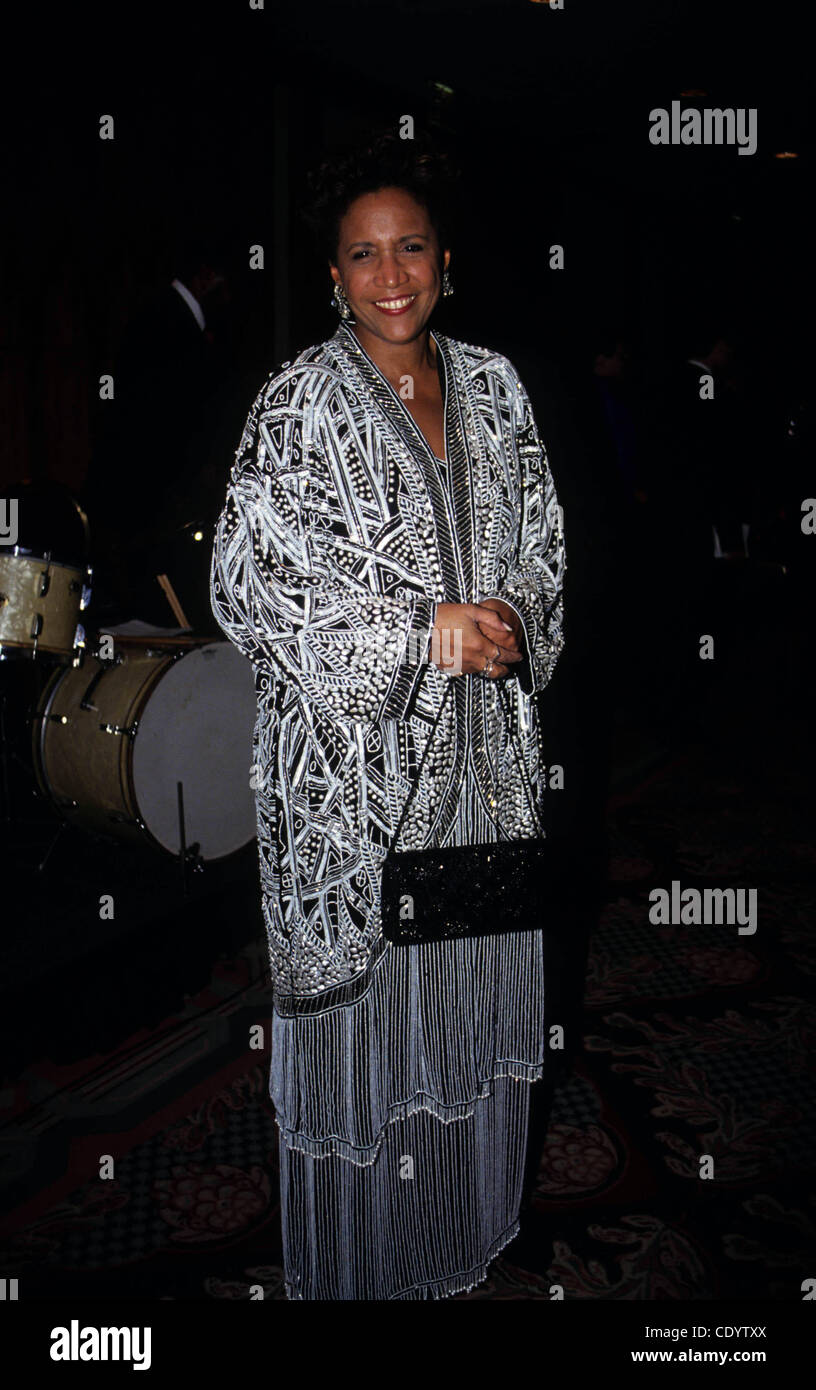 July 25, 2011 - New York, New York, U.S. - L7128ML.RENEE ROUSSAINT.NAACP Annaul Black-Tie Dinner. 1993(Credit Image: - Stock Image