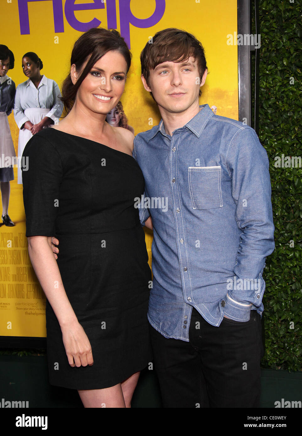 Aug. 9, 2011 - Beverly Hills, California, U.S. - MARSHALL & JAMIE ALLMAN arrives for the premiere of the film - Stock Image