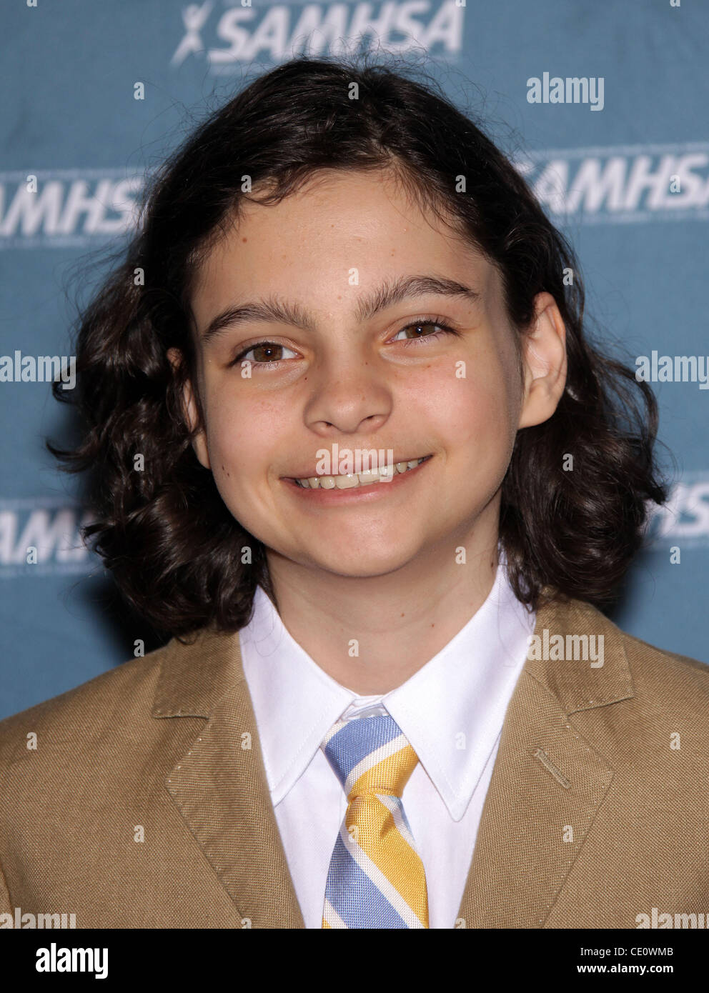 Aug. 24, 2011 - Hollywood, California, U.S. - MAX BURKHOLDER arrives for the The Voice Awards 2011 at the Paramount - Stock Image