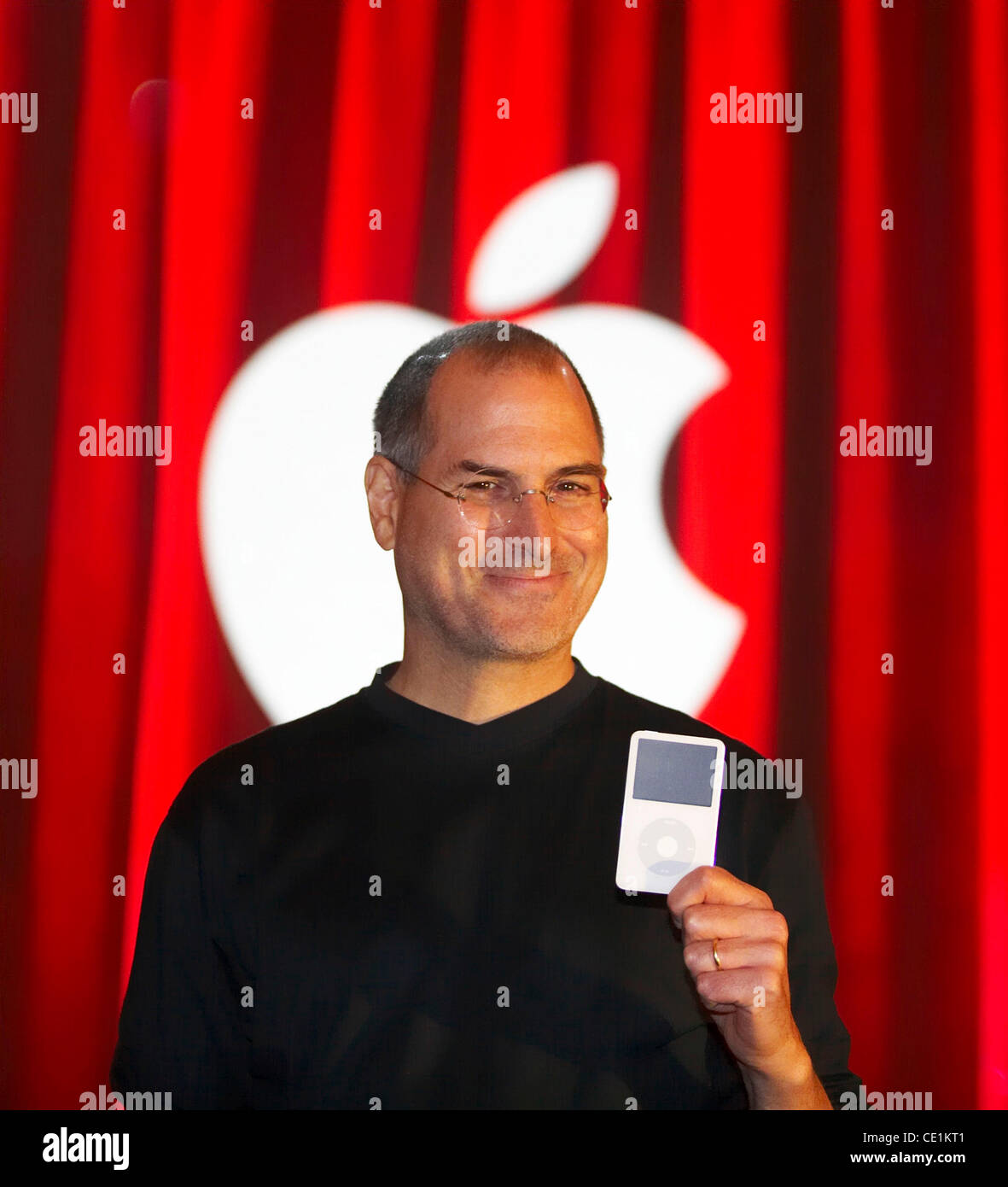 Oct. 5, 2011 - (File Photo) STEVE JOBS - the man who brought us the iPhone, the iPod and the iMac - has died. The - Stock Image