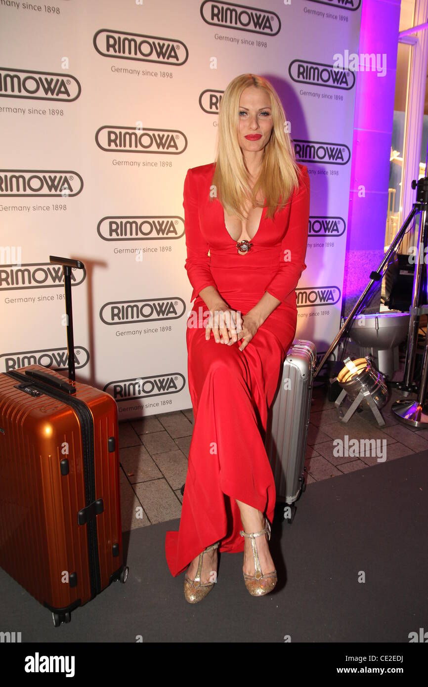 sonya kraus at the grand opening of the rimowa flagship store stock photo 43081182 alamy. Black Bedroom Furniture Sets. Home Design Ideas