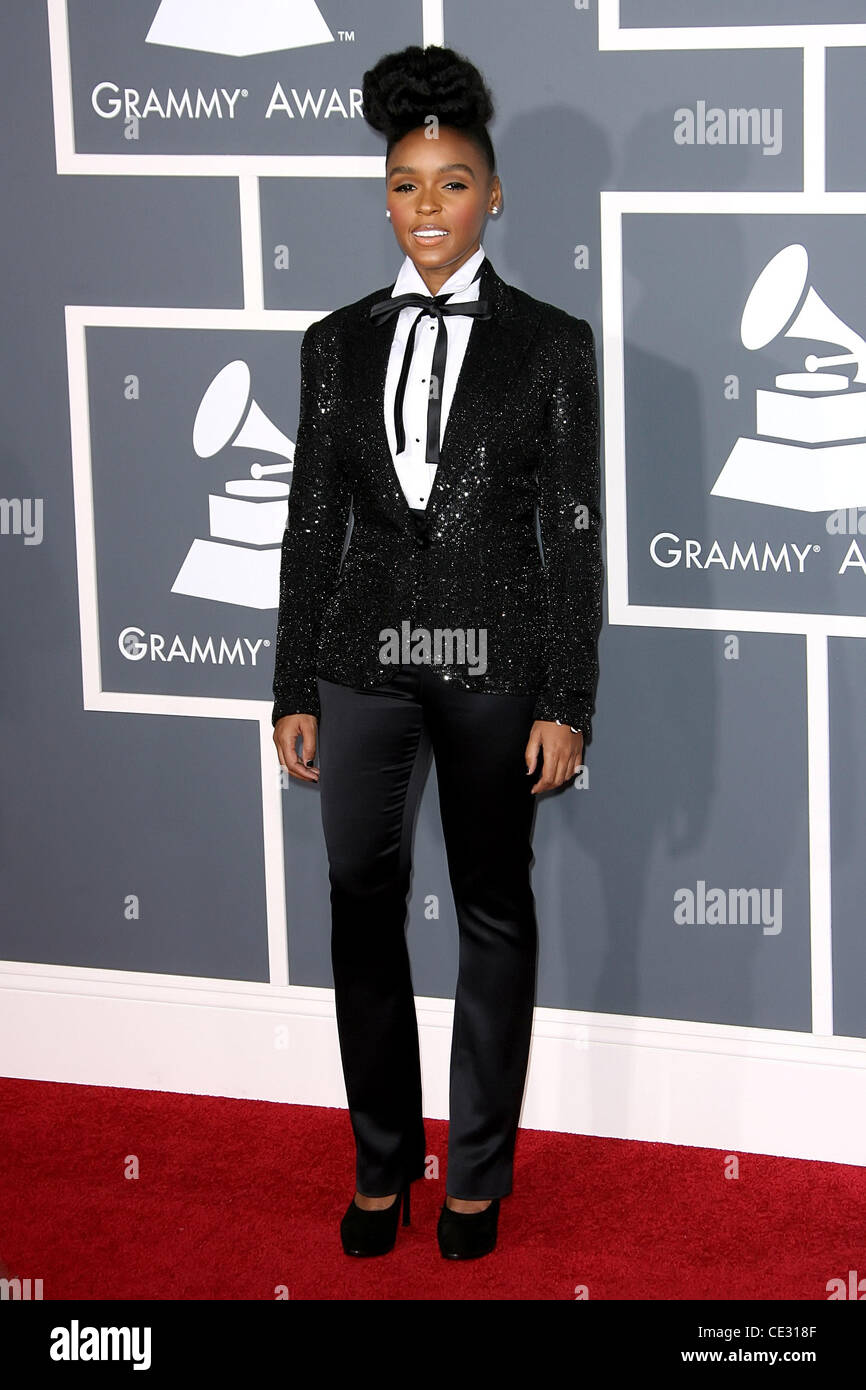 36c00d45752 Janelle Monae The 53rd Annual GRAMMY Awards at the Staples Center - Red  Carpet Arrivals Los Angeles, California - 13.02.11