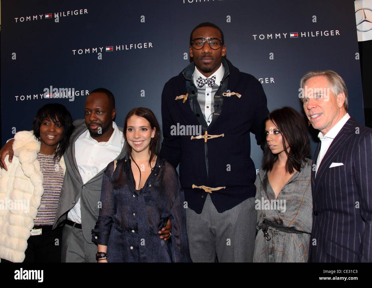 75517569 Guest, Wyclef Jean, Elizabeth Hilfiger, Guest, Ally Hilfiger, Tommy Hilfiger  Mercedes-Benz IMG New York Fashion Week Fall 2011 - Tommy Hilfiger - Runway  New ...