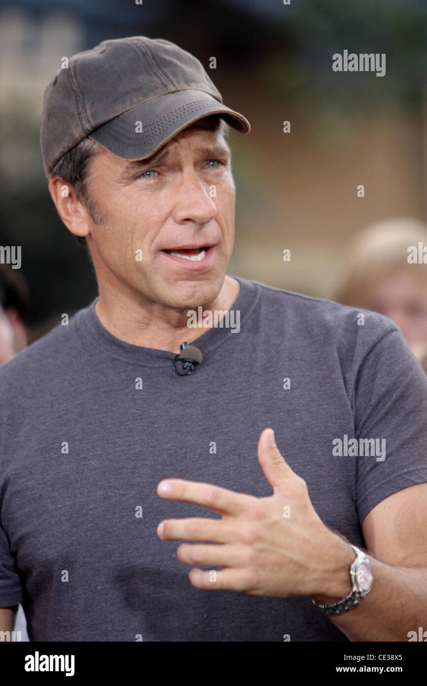 Discovery channel mike rowe