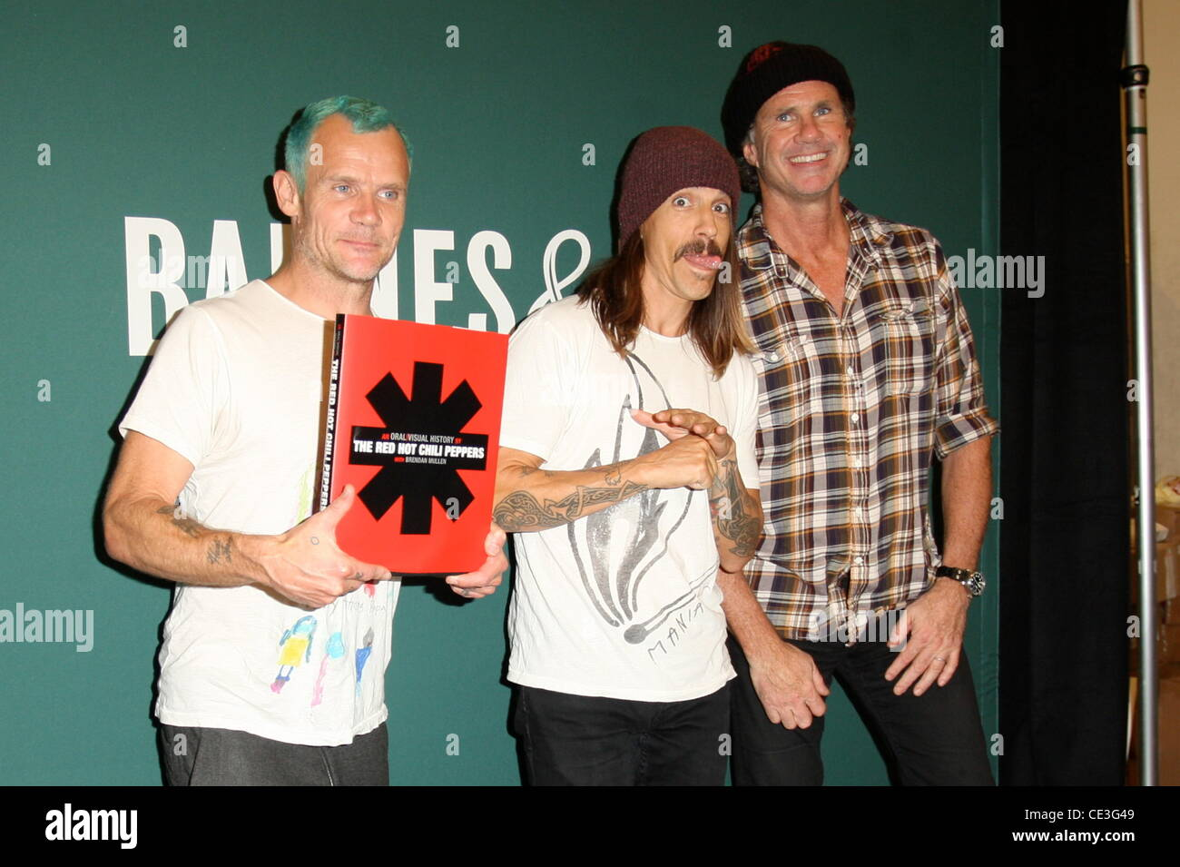 ... Anthony Kiedis and Chad Smith Red Hot Chili Peppers promote their new  book 'The Red Hot Chili Peppers: An Oral/Visual History' at The Grove in  Hollywood ...