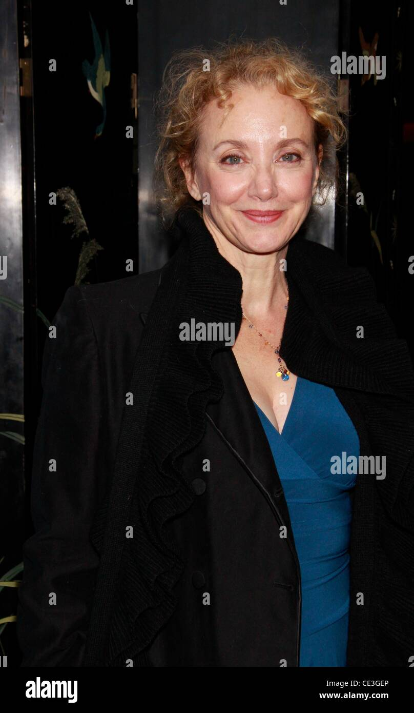 J. Smith-Cameron  The opening night after party for the Public Theater production of 'That Hopey Changey Thing' - Stock Image