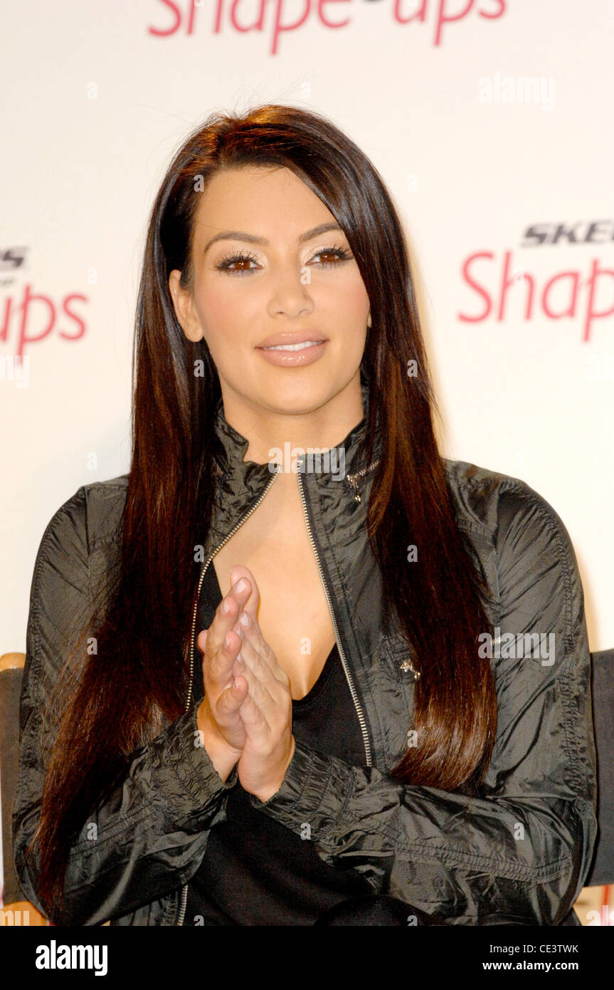 2cdd8e3c07114 Kim Kardashian Skechers Shape-Ups Announces Global Partnership With Kardashian  sisters and Kris Jenner at a special event held at the Beverly Hills Regent  ...