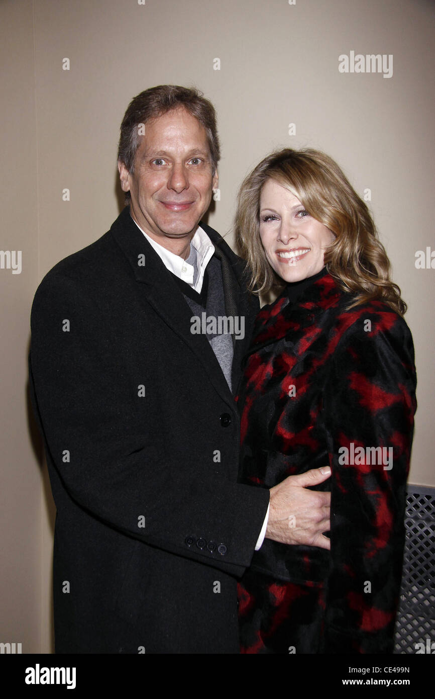 Scott Bryce and his wife, actress Jodi Stevens Opening night of the ...