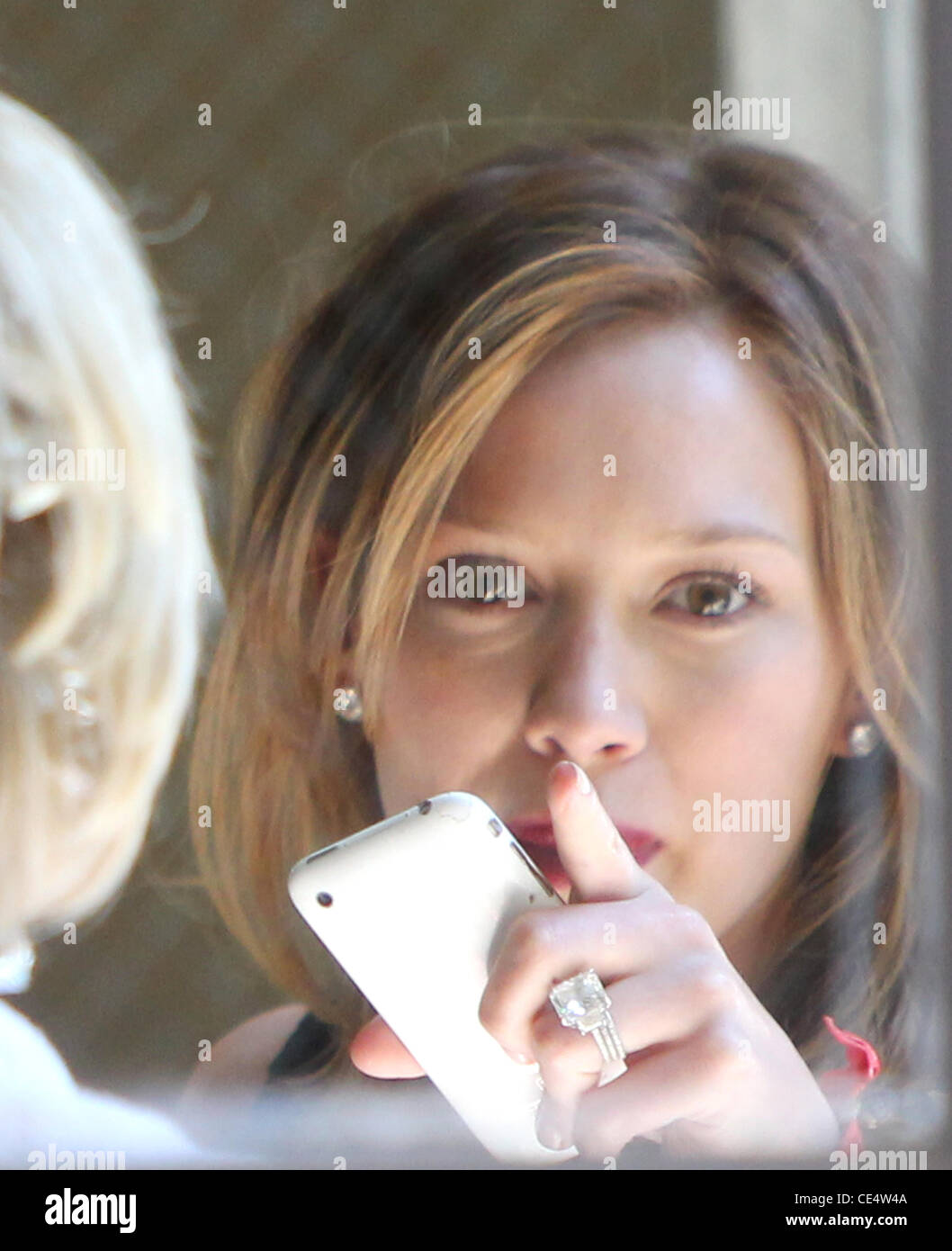 Hilary duff ring stock photos hilary duff ring stock images alamy hilary duff is seen leaving byron tracey hair salon in beverly hills hilary shows junglespirit Gallery