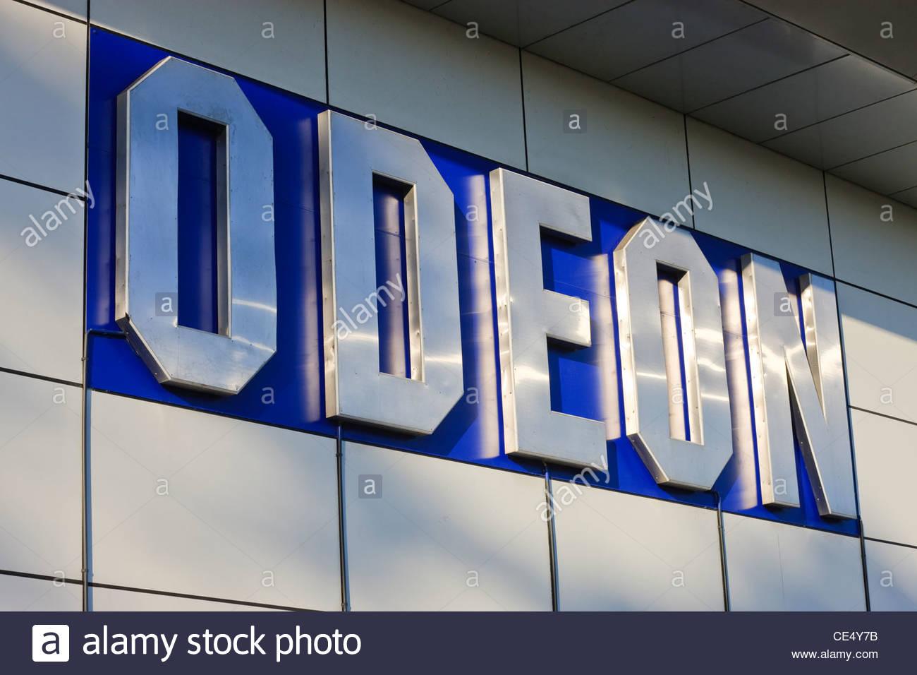 Odeon McArthur Glen Designer Outlet Sarn Park Bridgend South Wales - Stock Image