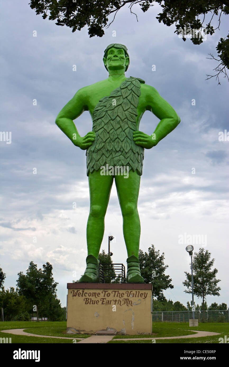 Jolly Green Giant - Stock Image