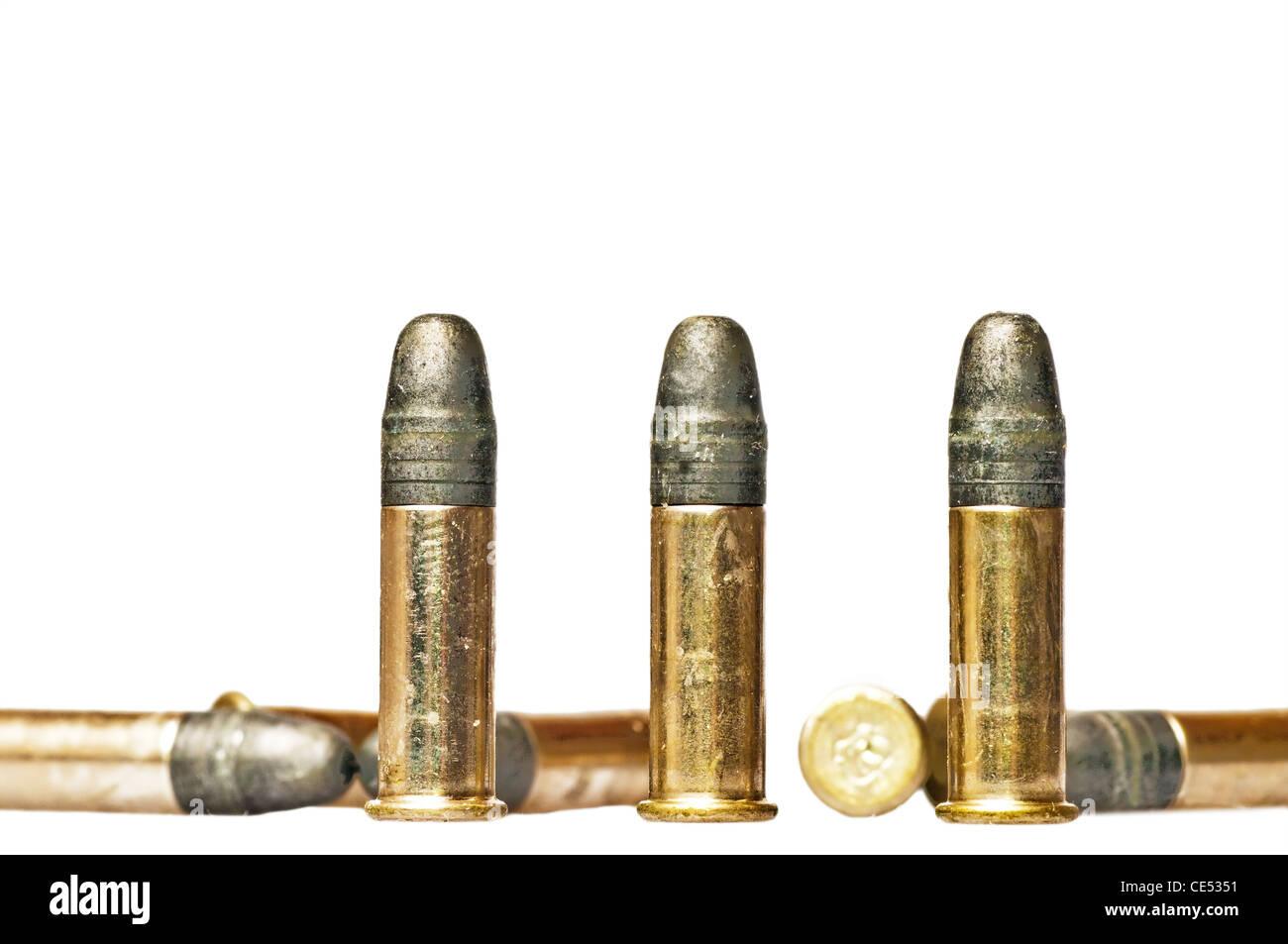 ammunition cal.22 - Stock Image