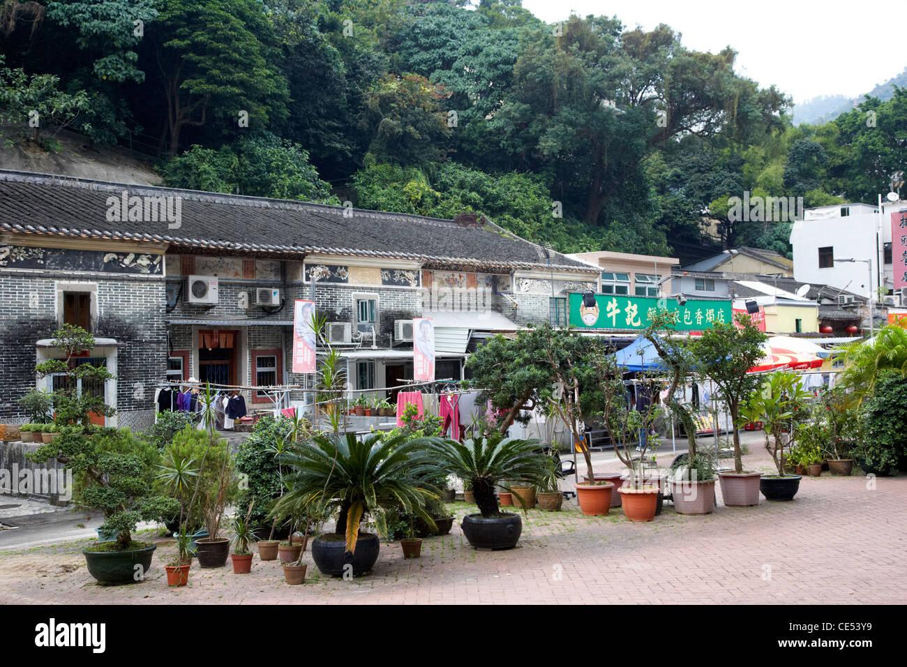 pai tau village sha tin hong kong hksar china asia - Stock Image
