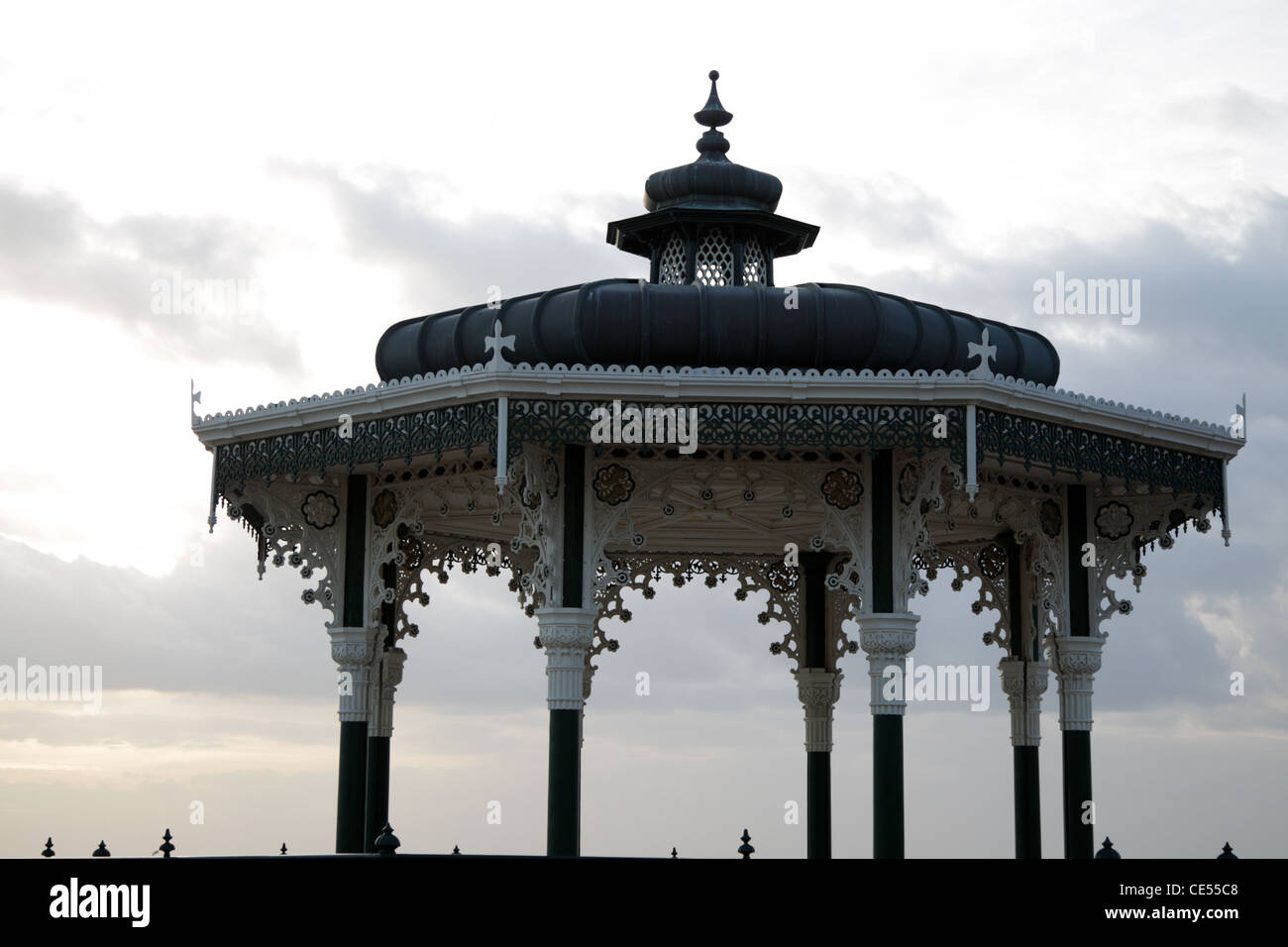 Brighton Bandstand known as 'The Birdcage' - Stock Image