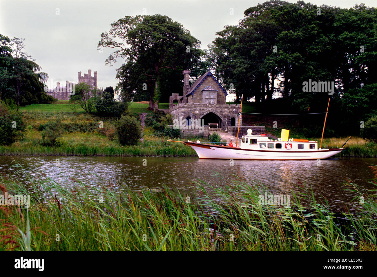 Castle Crom, County Fermanagh, Northern Ireland - Stock Image