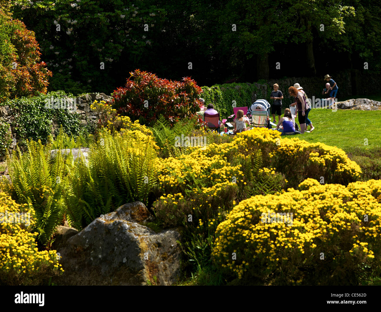 Rowallane Garden, County Down, Northern Ireland - Stock Image