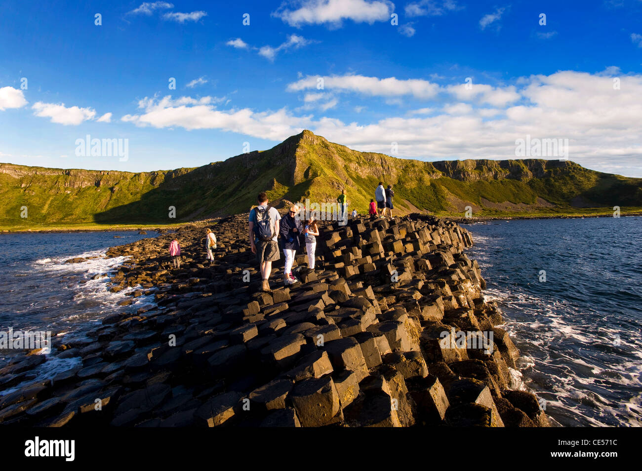 Giant's Causeway, Co. Antrim, Northern Ireland - Stock Image