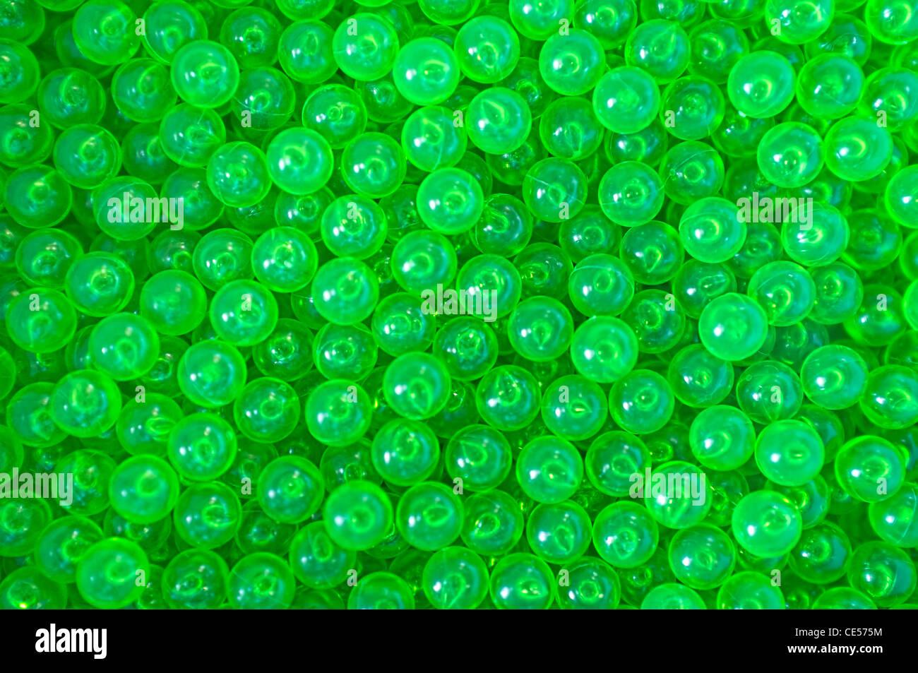 6 Mm Bb Gun Pellets Usable As Green Wallpaper Background Stock