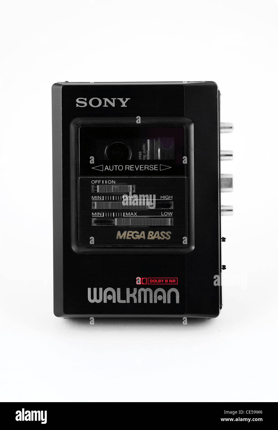 A 1980s Sony Walkman cassette player - Stock Image