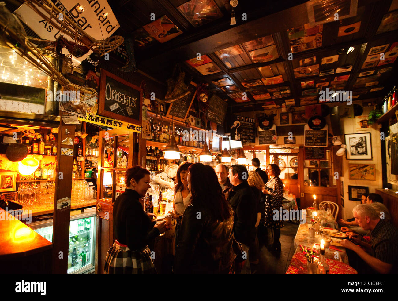 The Spaniard Bar, Cathedral Quarter, Belfast, Northern Ireland - Stock Image