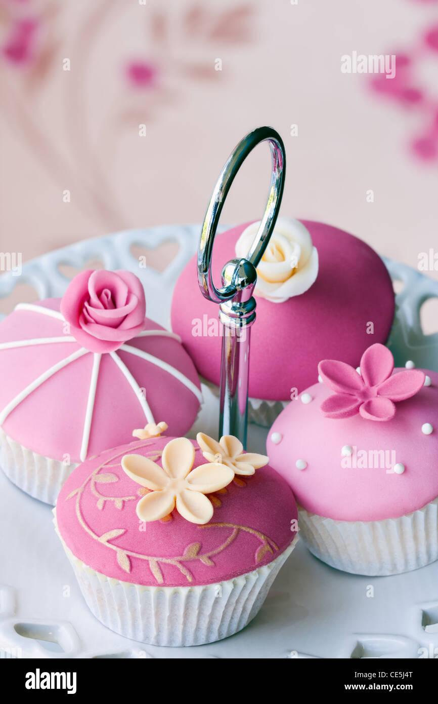 Gourmet cupcakes - Stock Image