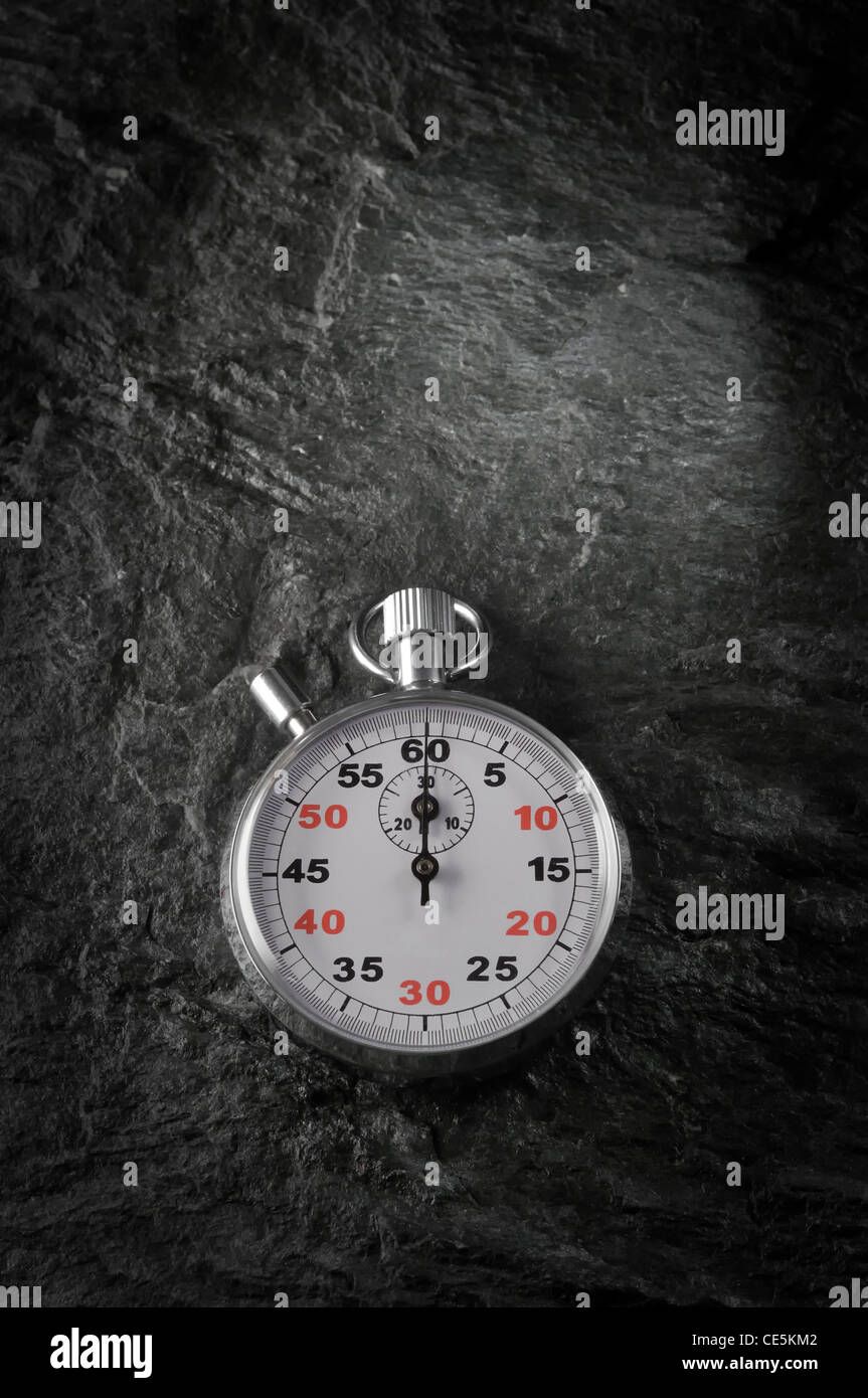 old style chronometer - Stock Image